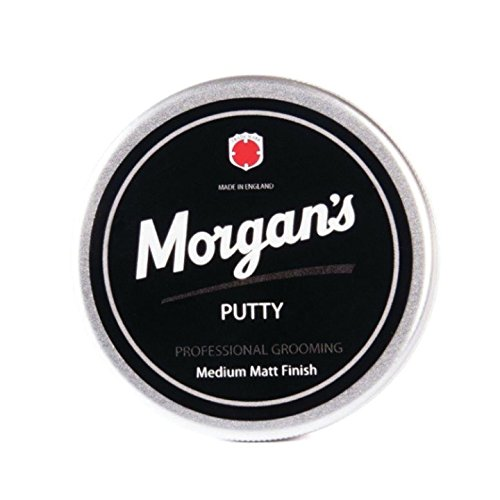 Morgan's Pomade Styling Putty Aluminium Tin, 100 ml, 0.21 lb Morgan' s Pomade M019