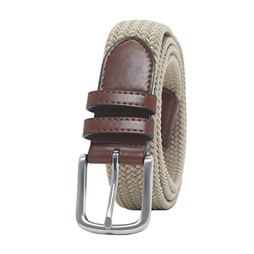 41xVMkGT4HL. SS500  - Amazon Essentials Men's Stretch Woven Braid Belt