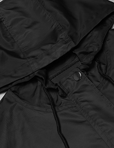 a607b2318b15 JINIDU Men s Lightweight Waterproof Rain Jacket Packable Hooded Long  Raincoat Windbreaker Jackets