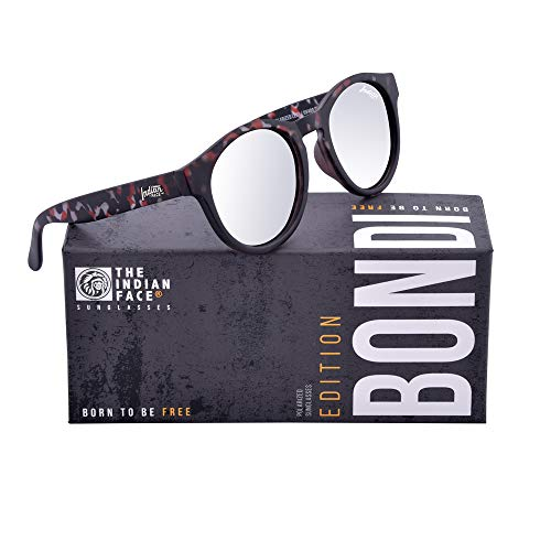 Unisex de THE Dark Gafas Bondi FACE Sol Tortoise INDIAN 51 OBqw1Axgf