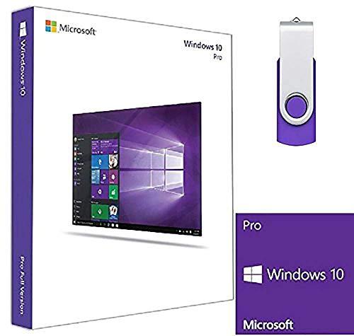 Windows 10 Pro USB Flash drive, 32/64 bit, English