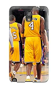 7734654K524650832 los angeles lakers nba basketball (77) NBA Sports & Colleges colorful Note 3 cases