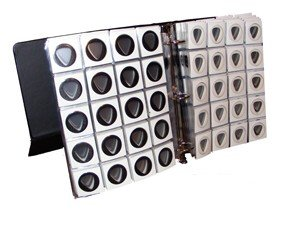 Guitar Pick Display Album To Organize 240 Standard Guitar Picks-351 Style by Buffalo Music Store/BCW