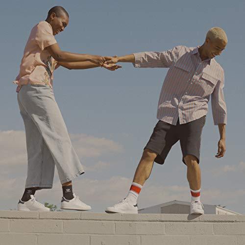 adidas Originals Men's Stan Smith Sneaker, Footwear White/Core White/Green, 17