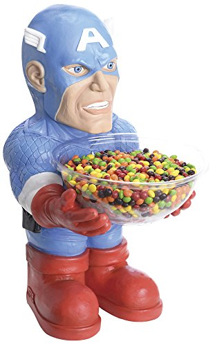 [Marvel Classic Captain America Candy Bowl Holder] (Classic Halloween Costumes 2016)
