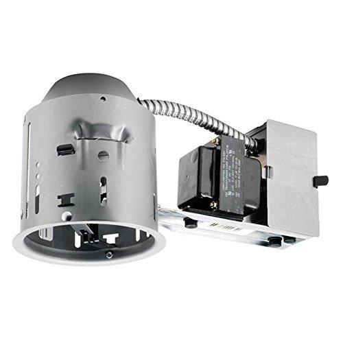 Juno Lighting V4TCRW Economy Recessed Non-IC Air-Tight 4 Inch TC Remodel Housing 120 Volt VuLite