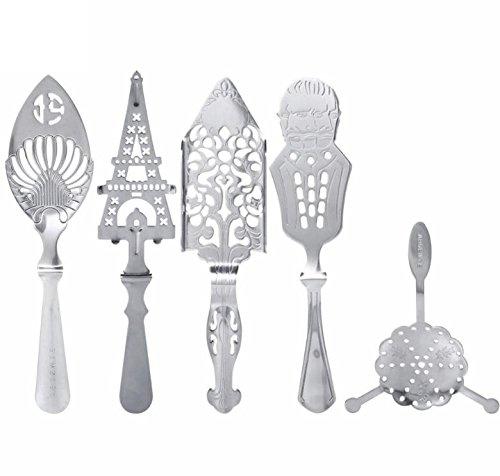 Bar Tools Absinthe Spoons Cocktail Shaker Filter Bar Accessories Absinthe