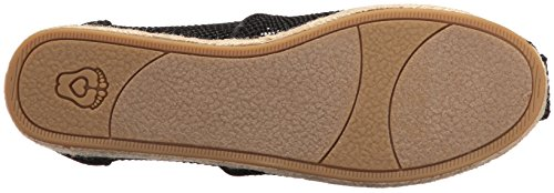 Skechers Highlights 34096, Zapatos, Mujer negro (Black Knit)