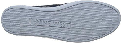 Neuf Ouest Vallée Des Femmes Tissu De La Mode Sneaker Bleu / Multi