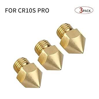 3 piezas] boquillas de 0,4 mm para impresora 3D CR-10S Pro: Amazon ...