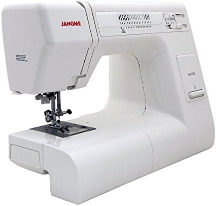 Janome HD3000 máquina de coser resistente: Amazon.es: Hogar