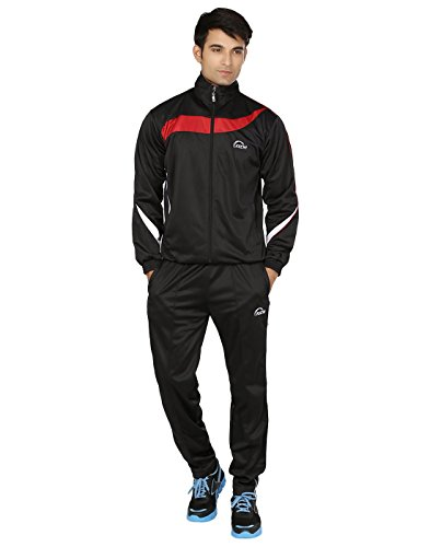 Keewi Men's Plain Striped Track Suit