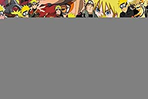 Naruto Avatar Large Photo Japanese Popular Anime Cartoon Zippered Pillow Case 20x30 (Twin sides)