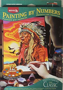 Amazon Com Reeves Paint By Numbers Adult Kit Native