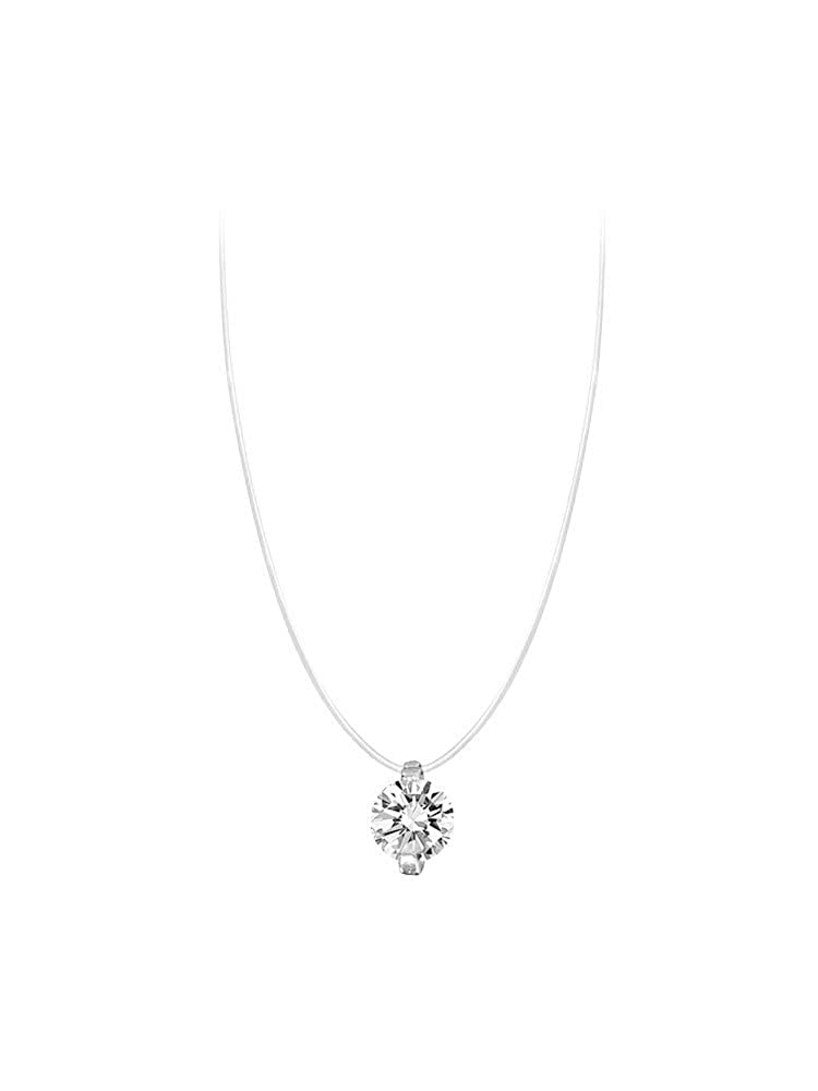 KOMO Jewellery Women Necklaces Pendants Gift Box Stand Holder 925 Sterling Silver Exquisite and Simple Fashion Gift