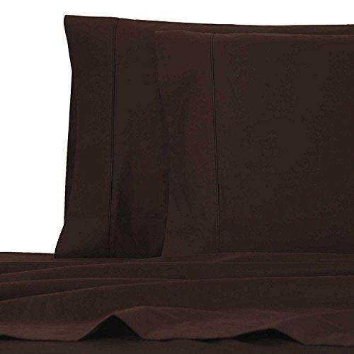 Wamsutta Deep Pocket Chocolate Brown Cal California King Sheet Set 1000 Thread Count Egyptian Cotton (Cotton Wamsutta Sheets Egyptian)