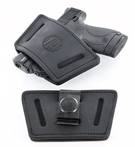 1791 Universal Medium Gun Holster, OWB/IWB CCW Holster, Right & Left Handed - Fits 1911, SIG P938, P238, Glock 19, Glock 43, Ruger LCP, SR22, LCR, Walther, S&W, Browning, Beretta, Keltec