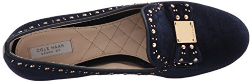 Pictures of Cole Haan Women's Tali Bow Stud W09619 Blue Velvet 2