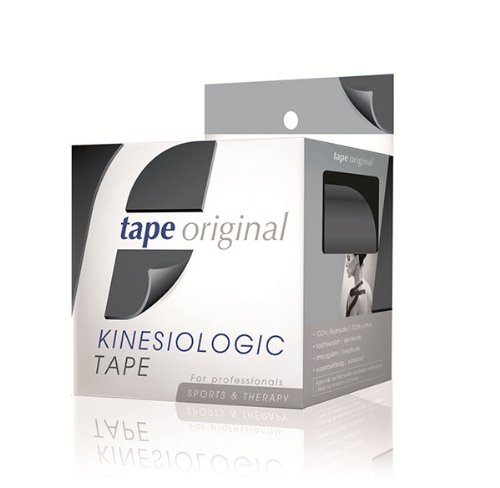 tape-original Kinesiologie-Tape - schwarz - 1 Rolle