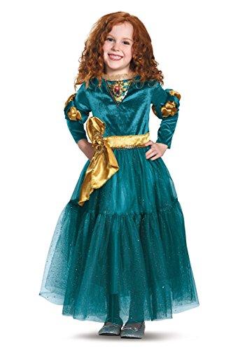 [Disguise Merida Deluxe Disney Princess Brave Disney/Pixar Costume, X-Small/3T-4T] (Merida Costume Brave)
