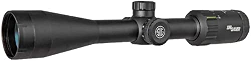 Sig Sauer SOW33202 Whiskey3 Riflescope, 3-9X40mm, 1 in, Sfp