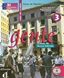 Gente 3, libro del alumno + CD (Spanish Edition) 9788484431886