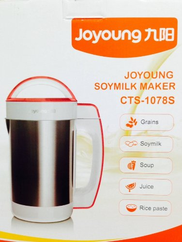 [Official] BONUS PACK! Joyoung CTS-1078S Easy-Clean Automatic Hot Soy Milk Maker with FREE Soybean Bonus Pack