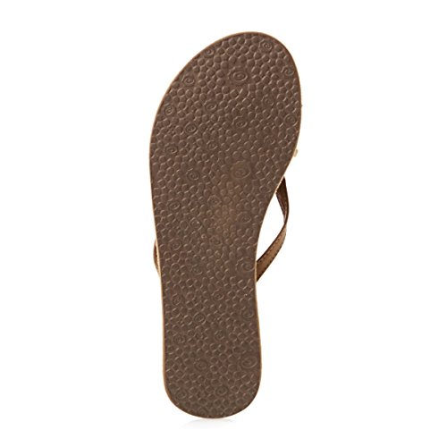 Sandals tan Curl Taille tan Women Coco Rip marron marron EB1wFqRFx
