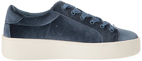 Steve Madden Women's Bertie Fashion Sneaker Light Blue Velvet best sale cheap online big discount cheap price Ib3VWPYKvW