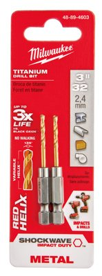 Milwaukee Electric Tool 48-89-4603 Impact Drill Bit, 3/32