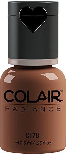 Dinair Airbrush Makeup Foundation | Hot Chocolate | Colair RADIANCE: Satin | 0.25oz