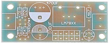 PIKA PIKA QIO Compatibile Kit Fai da Te, 20pcs modulo modulo regolatore di Tensione 5v Kit Fai da Te LM7806 / LM7809 / LM7815 regolatore a Tre terminali Modulo