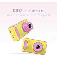 Mini Digital Camera, 2-inch 1080 HD Screen Digital Camera for Kids(Pink)- Jimwey Jicson J66