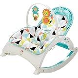 Fisher-Price Newborn-to-Toddler Portable Rocker, Windmill