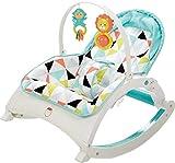 Fisher-Price Newborn-To-Toddler Portable Rocker, Pin Wheel