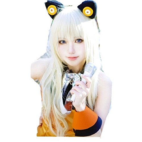 Seeu Cosplay Costumes (VOCALOID 3 V SeeU long wavy hair cosplay costume wig)
