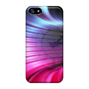 Mwaerke Snap On Hard Case Cover The Time Tunnel Protector For Iphone 5/5s