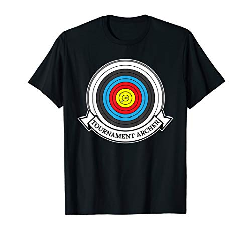 Archery Target Tournament Archer T-Shirt (Archery Tournament Target)