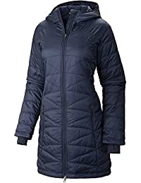COLUMBIA WOMEN'S MORNING LIGHT OMNI HEAT LONG JACKET COAT...