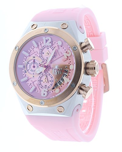 Technosport Capture 44mm Pink Chronograph GMT Womens Watch TS-820-5