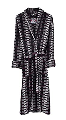 Mens Welshpool 100% Egyptian Cotton Plush Shawl Collar Luxury Bathrobe