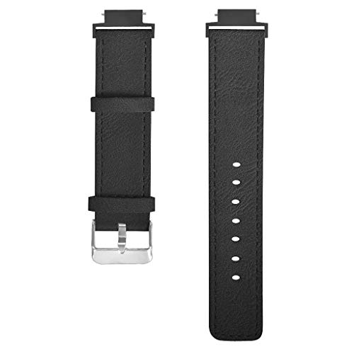 Price comparison product image BIYATE Compatible Amazfit Verge Youth Watch Band, Huami Amazfit Verge Youth Bands Genuine Leather Strap Replacement Buckle Strap Wrist Band Bracelet for Xiaomi Huami Amazfit Verge Youth Watch A1808