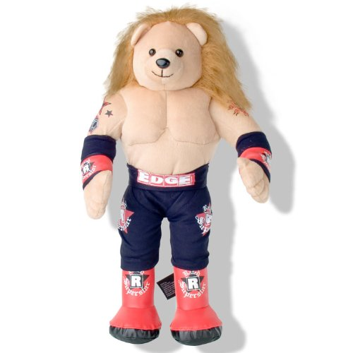 WWE Edge Rated R Superstar Plush 16 Inch Teddy Bear by WWE