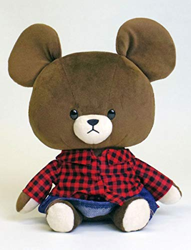 Bear Stuffed Toy In This Jackie Buffalo Check Plaid