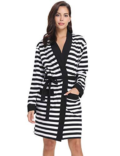 Kimono Cotten Albornoz Noche Mujer desnuda Ropa Robe Aibrou Babydoll Sat xHIwBqq