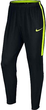 Metáfora sed Infidelidad  Amazon.com : Nike Mens NK Dry Academy Pant KPZ 839363-018_S -  Black/Black/Volt/Volt : Clothing