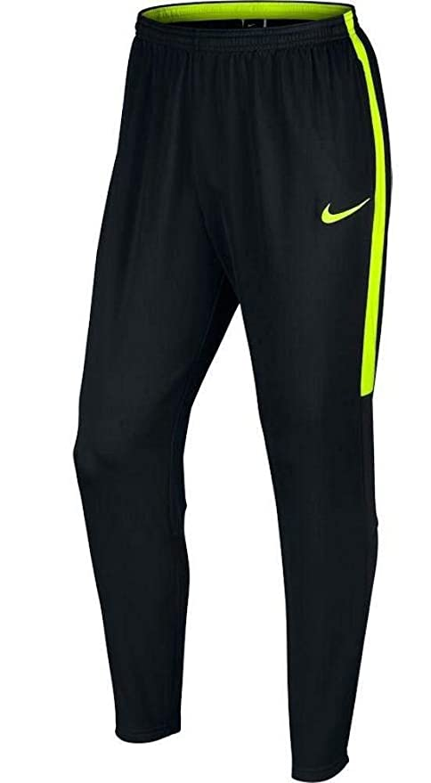 Pantalón Nike para hombre barato de color negro con logo neón