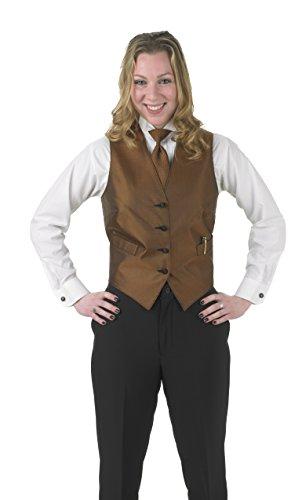 Averill's Sharper Uniforms Women's Ladies Banquet Elegant Print Apex Vest 3XL Copper