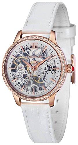 Thomas Earnshaw Womens The Lady Australis Watch - White/Gold
