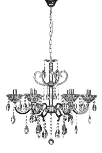 Premier Housewares 2501608 - Lámpara de araña [Clase de eficiencia energética A++]